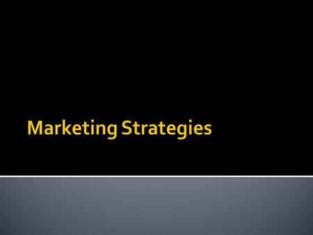  Unconventional method of marketing  Time, imagination & energy (rather than a large budget)