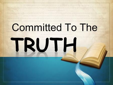 "Committed To The. According to Barna.org: 86% of ""born again Christians"" believe the Bible is totally accurate but… – only 47% read it from week to."