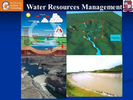 Water Resources Management. Drought Management & Water Harvesting Drought: Drought is condition of water deficit sufficient to have an adverse effect.