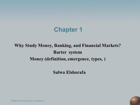 Chapter 13 - Money and Banking