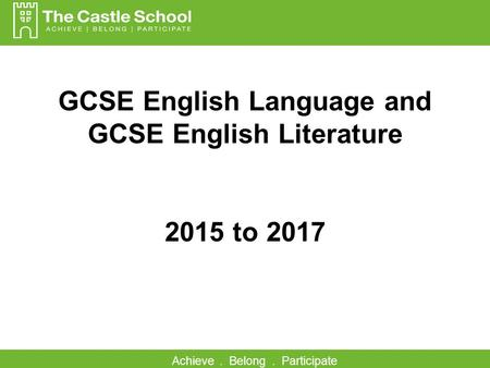 aqa gcse english language coursework percentage