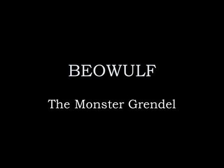 wiglaf and beowulf relationship