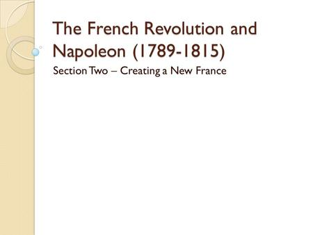 How did the French Revolution impact other countries?