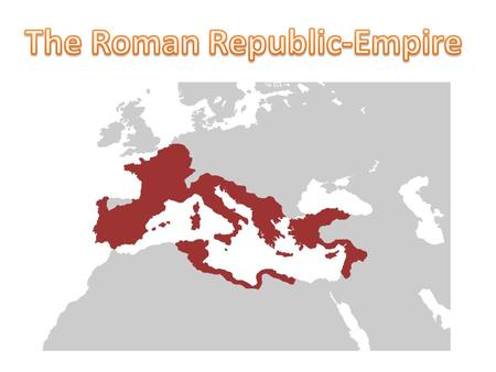 It began with the overthrow of the Roman monarchy, traditionally dated around 509 BC, and its replacement by a government headed by two consuls, elected.