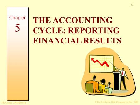 © The McGraw-Hill Companies, Inc., 2005 McGraw-Hill/Irwin 5-1 THE ACCOUNTING CYCLE: REPORTING FINANCIAL RESULTS Chapter 5.