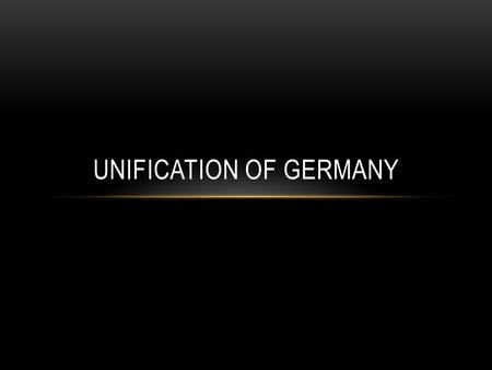 UNIFICATION OF GERMANY. PRUSSIA AS LEADER 1800's: Germany remained a patchwork of independent states Own laws, currency, and rulers (Until Prussia steps.