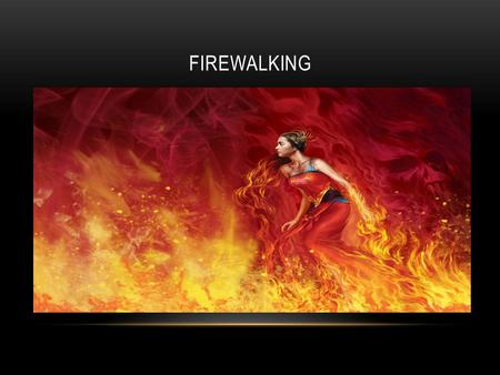 FIREWALKING. KNOW YOUR ENEMY: FIREWALLS What is a firewall? A device or set of devices designed to permit or deny network transmissions based upon a set.