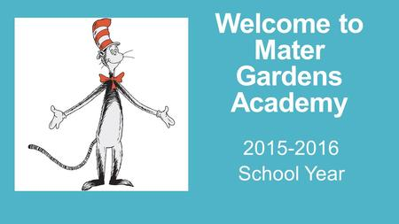 Welcome to Mater Gardens Academy