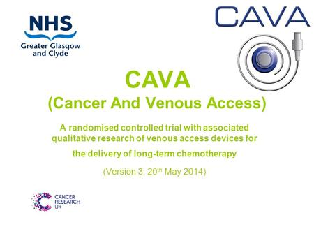 CAVA (Cancer And Venous Access)