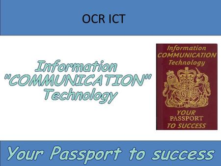 applied ict coursework examples