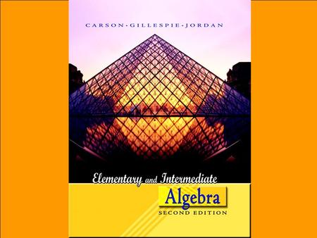 1. Copyright © 2006 Pearson Education, Inc. Publishing as Pearson Addison-Wesley Systems of Equations CHAPTER 1Solving Systems of Linear Equations Graphically.