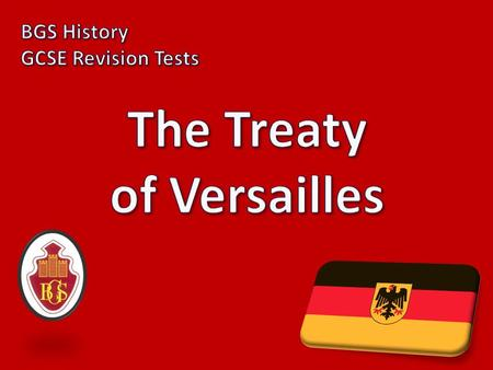 1) When was this treaty signed? July 1919 2) What kind of treaty were the Germans hoping for? A fair treaty.