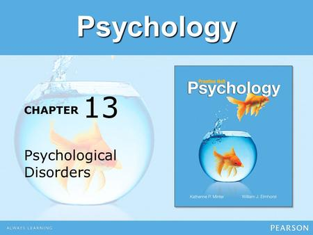 13 Psychological Disorders.