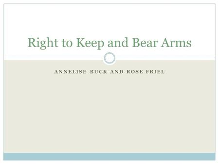 an analysis of the debate surrounding the right to bear arms in united states A shot heard 'round the district: the district of columbia circuit puts a bullet in  united states v  adopts an individual right to keep and bear arms.
