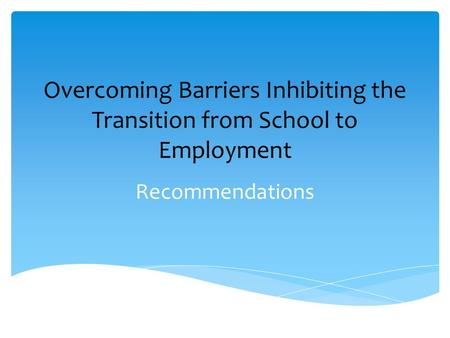 Overcome Barriers That Prevent Parents Involvement In Childrens Education Essay