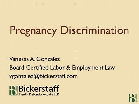 pregnancy discrimination act in uae On march 25, 2015, the us supreme court issued a decision in young v united parcel service, inc, holding that the pregnancy discrimination act (pda) requires.