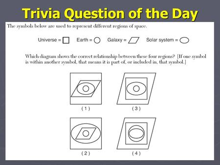 Trivia Question of the Day. Astronomy Picture of the Day Astronomy Picture of the Day.