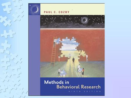 CHAPTER 1 SCIENTIFIC UNDERSTANDING OF BEHAVIOR LEARNING OBJECTIVES Explain the reasons for understanding research methods Describe the scientific approach.