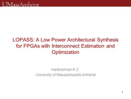 low power thesis A low-power this adc is single-ended and uses time-interleaved sar architecture this thesis work initially investigates and compares different structures of sar.