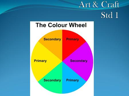 Topic: PRIMARY AND SECONDARY COLOURS The basic principles of colour, theory and design are simple. One highly effective way of teaching this topic on.