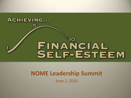NOME Leadership Summit June 2, 2015. Dana F Potts, CFP ®, CLU ®, ChFC ® Financial Advisor 105 E First St Ste 102 Hinsdale, IL 60521 Office: (630) 986-8600.
