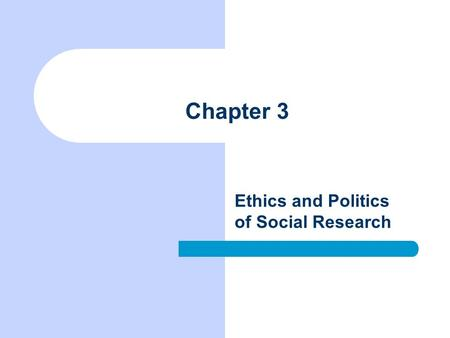 The importance of ethics in politics and business