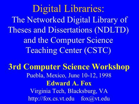 Vt electronic thesis and dissertation library