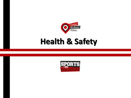 Health & Safety. Why is health and safety important?