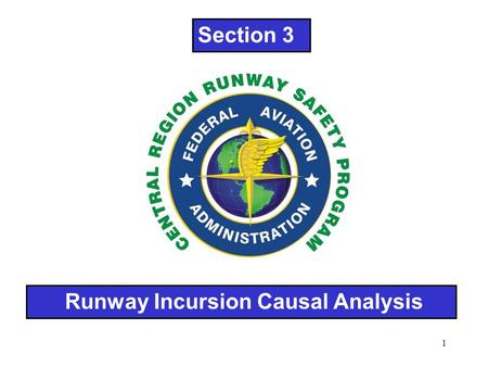 1 Runway Incursion Causal Analysis Section 3. 2 PILOTS and VEHICLE OPERATORS must taxi and maneuver their aircraft/vehicles on taxiways and runways in.