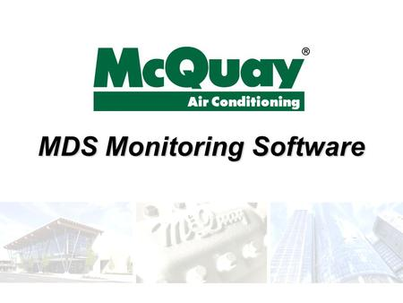 MDS Monitoring Software. Page 2 Contents  Introduction  User Interface  Service Personnel Interface  System Requirement  Demonstration.
