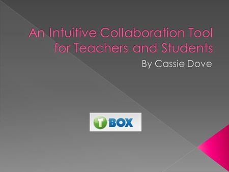  T-Box is a solution which promotes and potentiates the creative, responsible, and safe use of technology within education. 