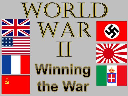 World War II. Formed in 1943 Made up of Nisei Fought with distinction in Italy and France Most decorated combat unit in U.S. history Members of the 442nd.