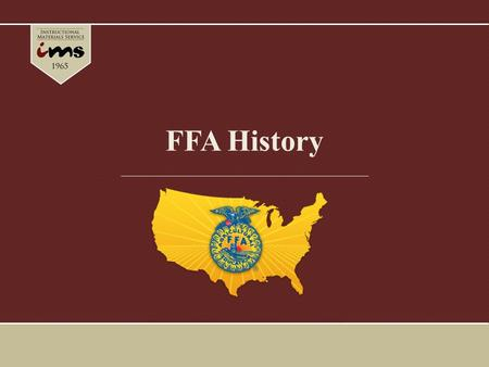 Ffa history ffa student handbook chapter 2 ppt download ibookread Download