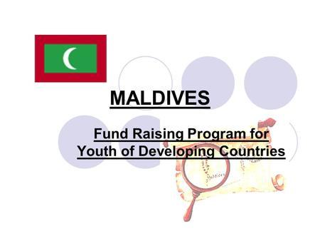 MALDIVES Fund Raising Program for Youth of Developing Countries.