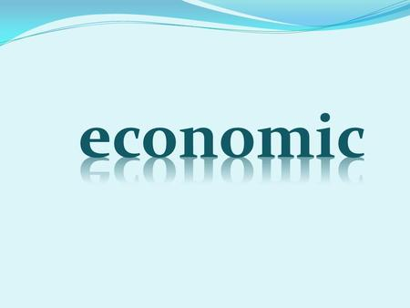 "The word economy comes from a Greek word for ""one who manages a household."""