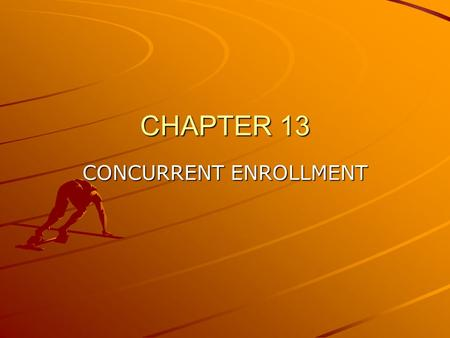 CHAPTER 13 CONCURRENT ENROLLMENT. ALCOHOL Alcohol –A–A–A–A compound in which an -OH group is connected to an aliphatic carbon atom CH3-CH2-OH ethanol.