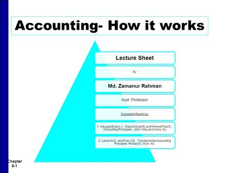 Accounting- How it works