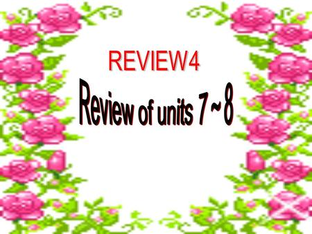 Review the words about clothes. sweater shirt pants/ trousers T-shirt skirt jeans.