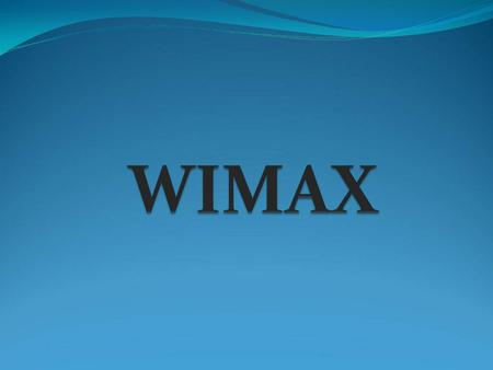thesis paper on wimax The purpose of this paper is to analyze the performance of rof as a   technology for lte and wimax  purpose of this thesis, wimax and lte were  chosen.