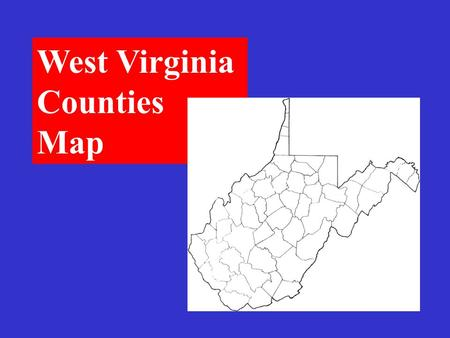 West Virginia Counties Map Berkeley West Virginia Counties.