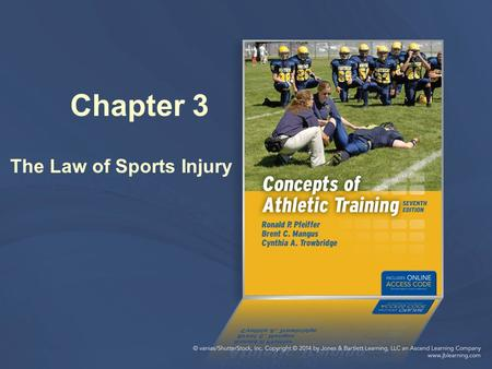 Chapter 3 The Law of Sports Injury. The field of sports medicine has witnessed a dramatic ___________ in the amount of litigation over the last decade.