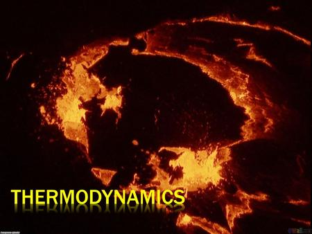 The word Thermodynamics derived from two Greek ideas:  Therme meaning hot or heat  Dynamikos meaning power and now the study of matter in motion.