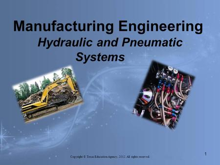 Manufacturing Engineering Hydraulic and Pneumatic Systems