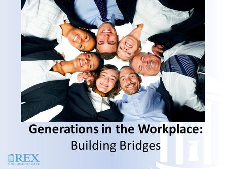 Generations in the Workplace: Building Bridges. Generation Gaps: Why We Struggle Shared Life Experiences Social experiences Economic Conditions Size of.