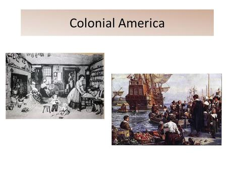 important factors of colonial new england The differentiating characteristics among the chesapeake and new england colonies developed due to economy, religion social intellectual, economic, and political factors separating the colonists and the subjects of england - the war is inevitable--and let it come i repeat it.