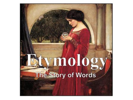 Etymology The Story of Words Psyche and her muse, the crystal ball.