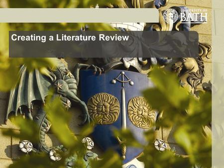 Creating a Literature Review. What is a literature review? A critical, comparative review of relevant literature – critique, compare and contrast writings.