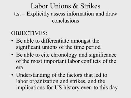 Communists in the United States Labor Movement (1919–37)