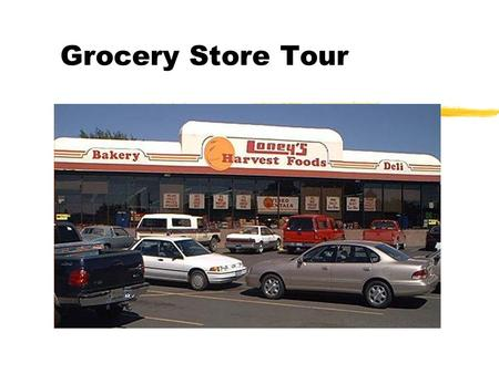 Grocery Store Tour. Produce z Fruits Vegetables Fruits Vegetables.
