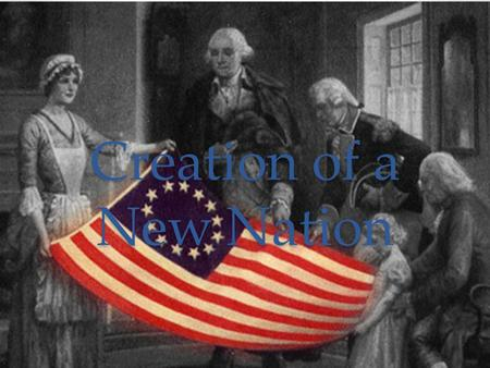 Creation of a New Nation. Aim: What were the weaknesses with the Articles of Confederation? Background: o Issue: What would be the relationship between.